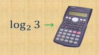 Calculando logaritmo na calculadora cientifica