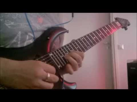 Dream Theater - A Better Life guitar solo cover