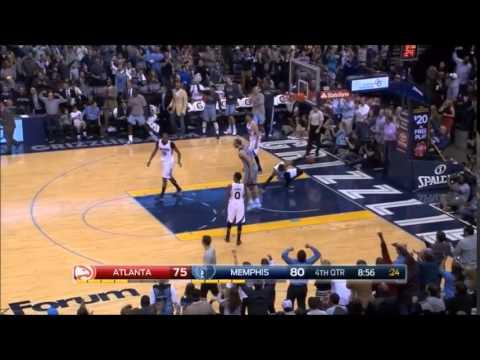 Tony Allen Highlights of the 2014-2015 NBA season