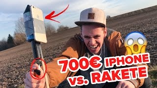 700€ iPhone vs. RAKETE || Flowest
