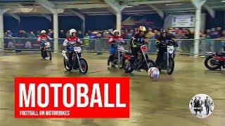 Football on motorbikes - Motoball