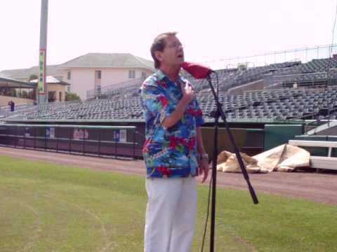 Sonny Russell Sings The National Anthem
