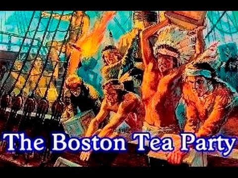 history brief the boston tea party youtube. Black Bedroom Furniture Sets. Home Design Ideas