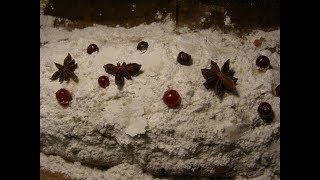 Рождественский творожный кекс Штоллен 🎅 Christmas cake Stollen