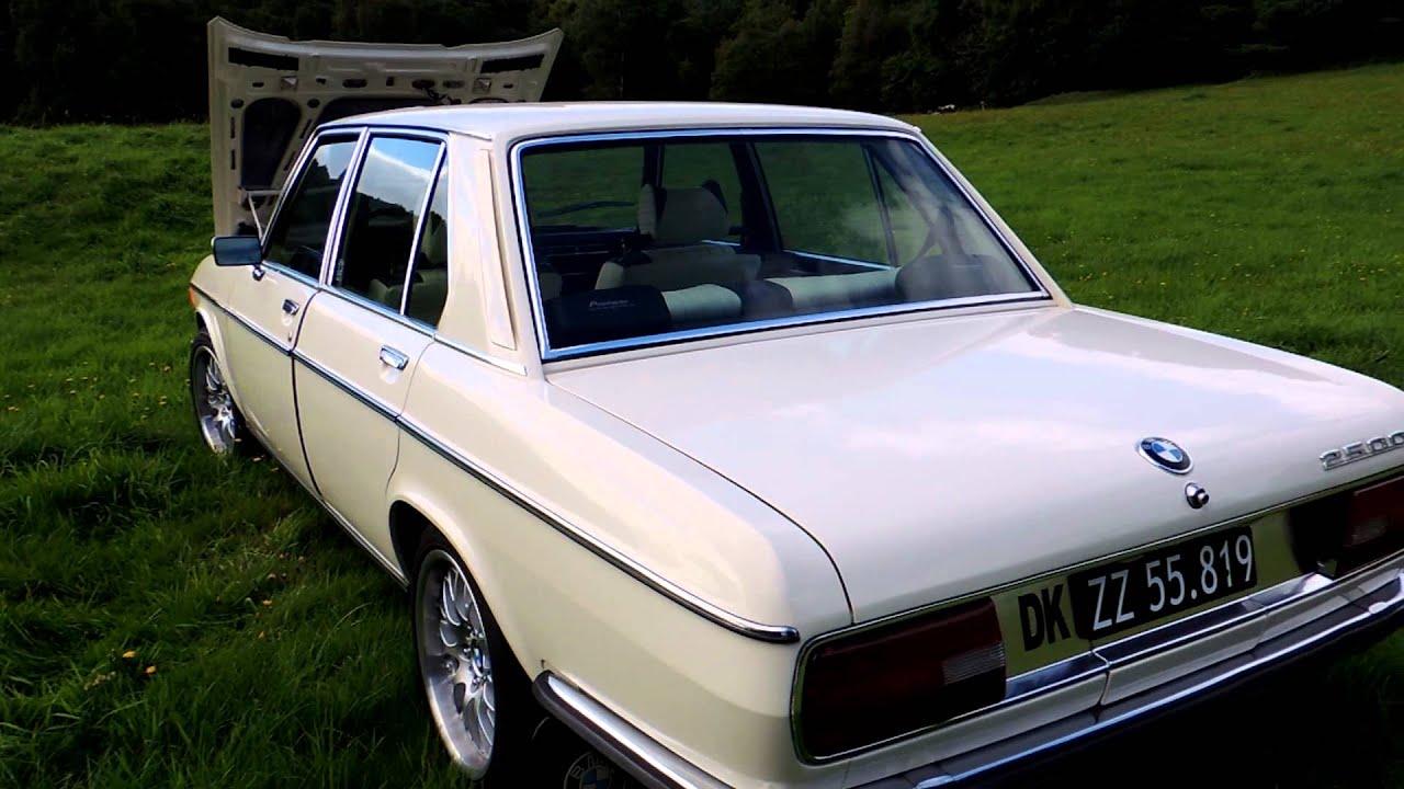 BMW 2500 1975 - YouTube