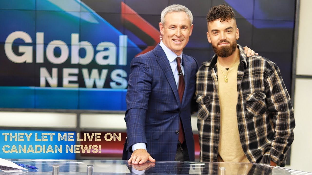 THEY LET ME GO LIVE ON CANADIAN NEWS........ Toronto vlog!