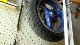 How To Balance a Scooter / Motorcycle / Moped Tire