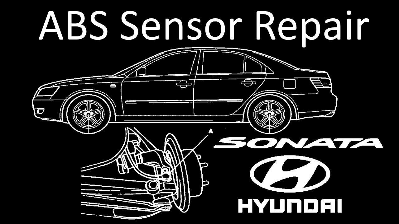 Hyundai Sonata: Anti-lock brake system (ABS)