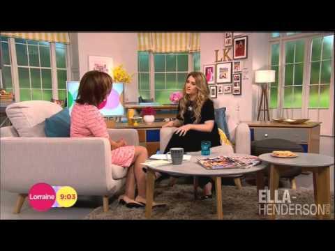 Ella Henderson interview on Lorraine (6th June)