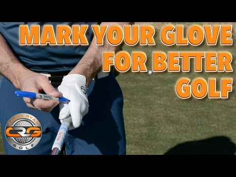 HOW TO MARK YOUR GOLF GLOVE