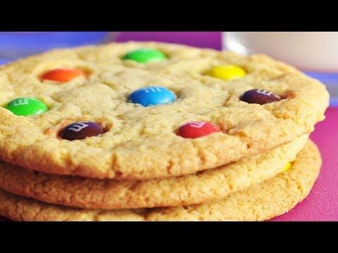 M&M's® Cookies Recipe Demonstration - Joyofbaking.com