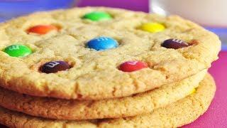 M&Ms Cookies Recipe Demonstration