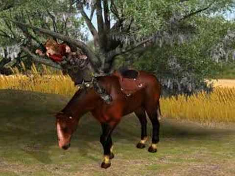 iclone 2 headed horse - YouTube