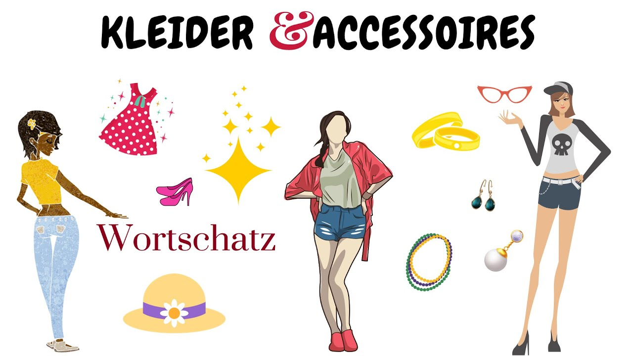 die kleidung - wortschatz + test | deutsch lernen| clothes - vocabulary |  learn german
