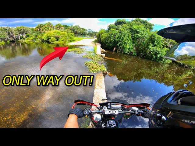 OFF-ROADING TRAIL GETS FLOODED...