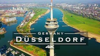 Düsseldorf, Germany 🇩🇪 - by drone [4K]