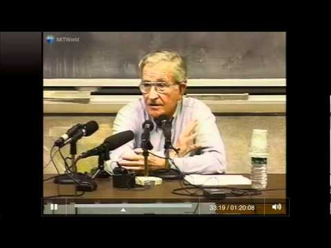 Noam Chomsky - The New War on Terror [MIT, Full].flv