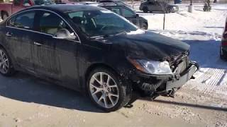 I bought a Salvage car from COPART: 2012 Buick Regal GS