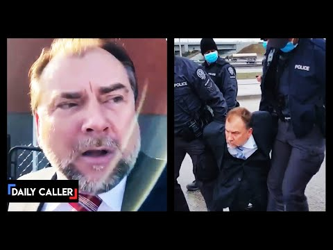Viral Police-Ejecting Pastor Arrested And Dragged Into Canadian Custody
