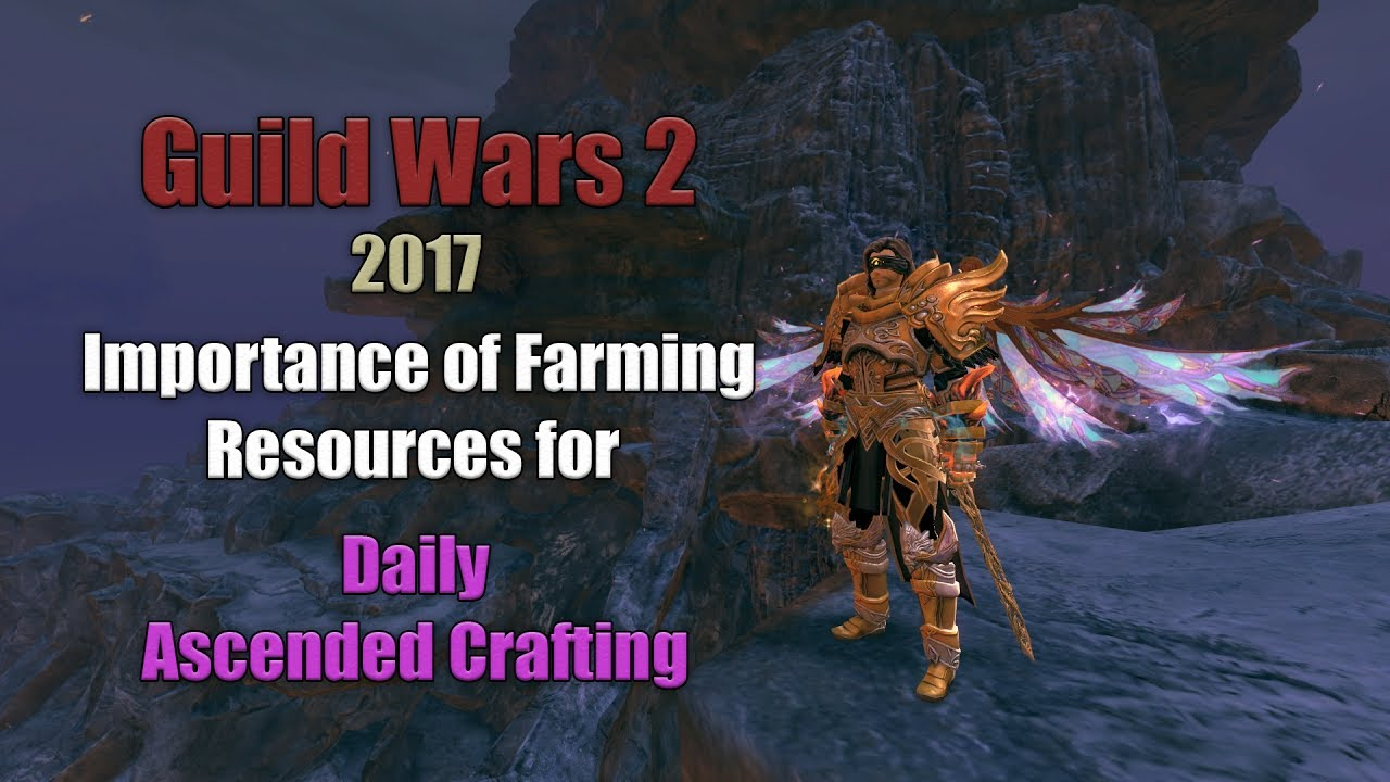 Gw2 Daily Gathering In 2017 Resource Farming For Gold Crafting