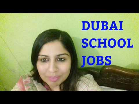 HOW TO APPLY ONLINE FOR TEACHING JOBS IN SCHOOL IN DUBAI UAE !!!