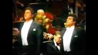 Placido Domingo  Sherrill Milnes sing duet Pearl Fishes
