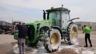 Cleaning Agricultural Equipment, Fast and Effective