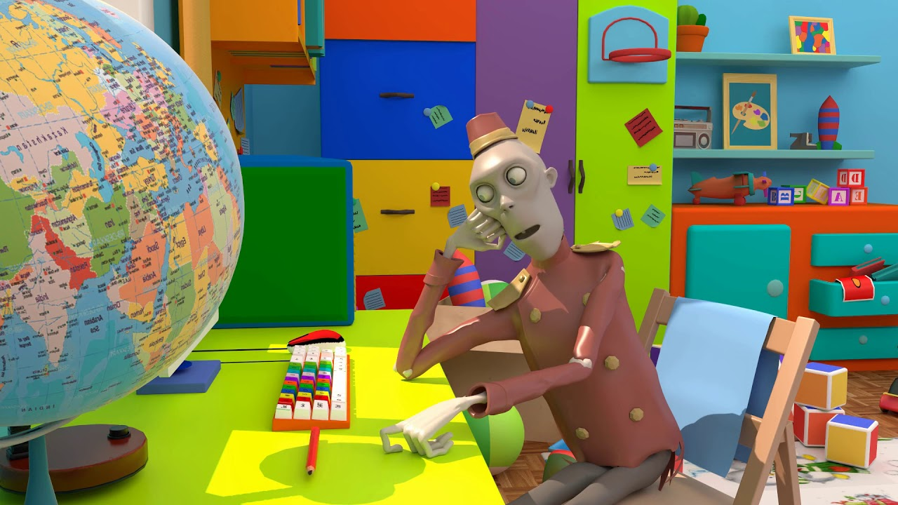 "CGI Animated Short Film: ""Zombie awaiting"" by Astoria Entertainment"