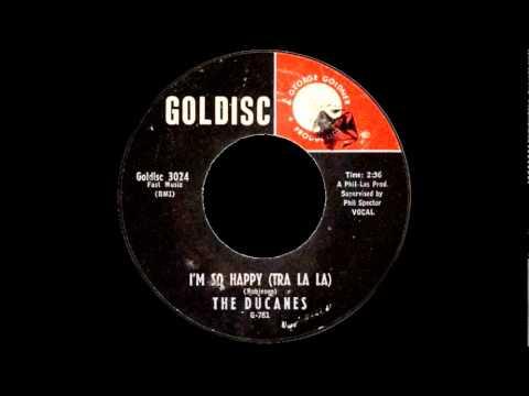 I'm So Happy (Tra La La)- The Ducanes-'1961- 45-Goldisc 3024.wmv
