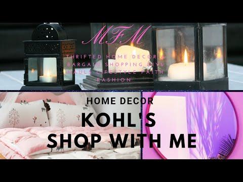Kohl's | Shop With Me | Home Decor | MFM