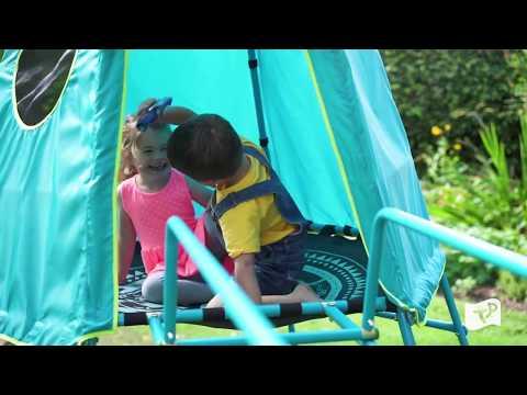 TP Toys Explorer Metal Climbing Frame | Slide | Climbing Bridge | Frame
