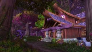 1 hour Teldrassil music - in game - World of Warcraft