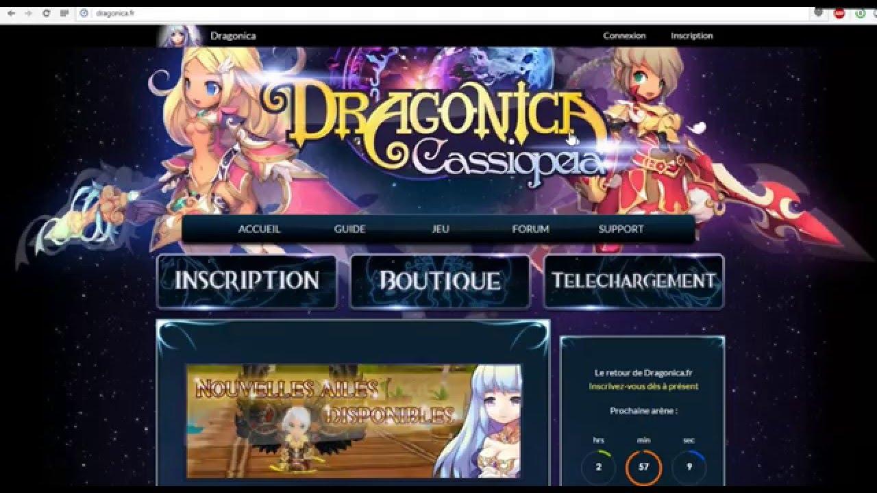 dragonica gratuitement