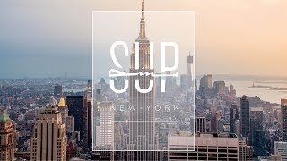 SUPin' New York - Stand Up Paddle à Manhattan - Teulade Brothers