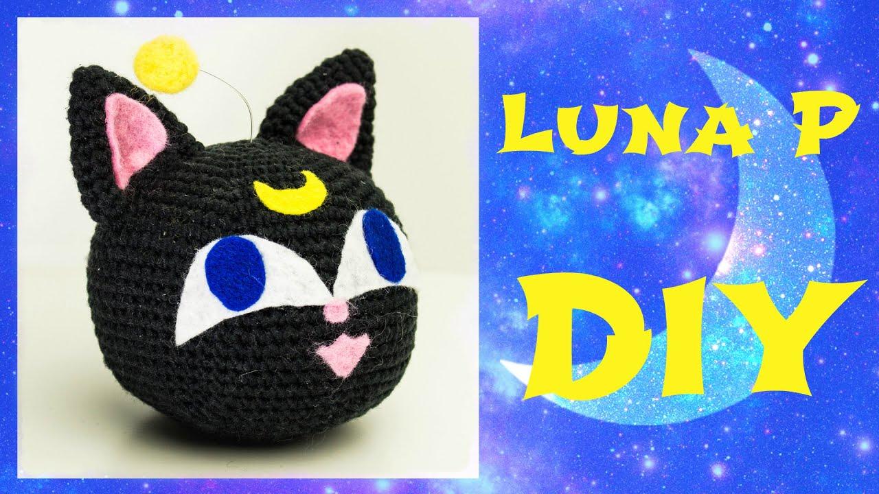 Sailor Moon Luna P häkeln *Do it Yourself* - YouTube