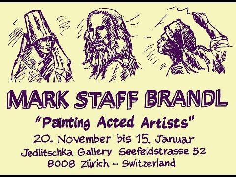 Brandl's Painting Acted Artists, Stephen Krag