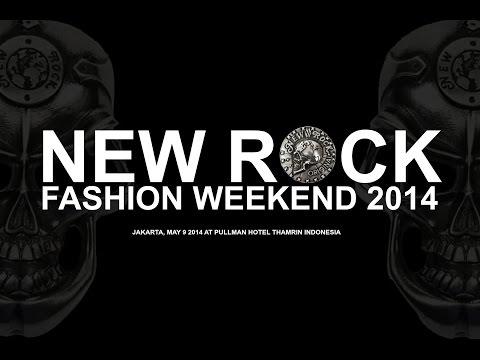 NEW ROCK FASHION WEEKEND 2014 JAKARTA
