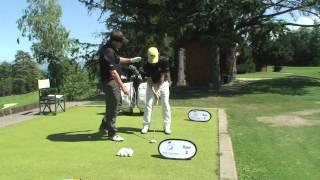 Posture von Jonathan Wallet Swiss PGA Member