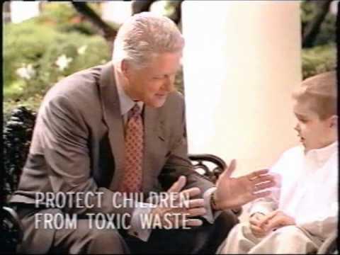 """Clinton """"America Back"""" ad '96"""