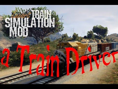 GTA V -Train Driving -Train Driver -How to Train Driver-GTA V Tren Sürmek