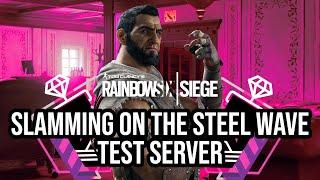 Slamming On The Steel Wave Test Server | Kafe Full Game