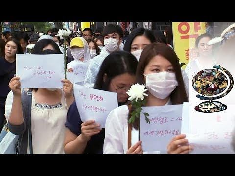 South Korea's Growing Feminist Movement Fights Back