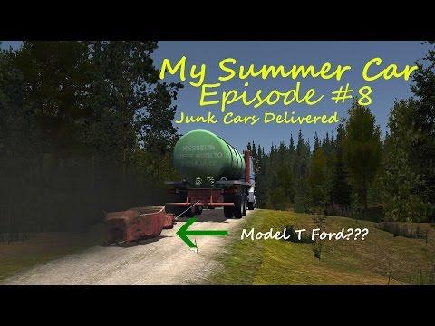 My Summer Car Ep. #8 Junk Cars Delivered