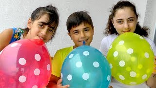 Balloons Color Song - Nursery rhymes for babies by Guka Famiily Show