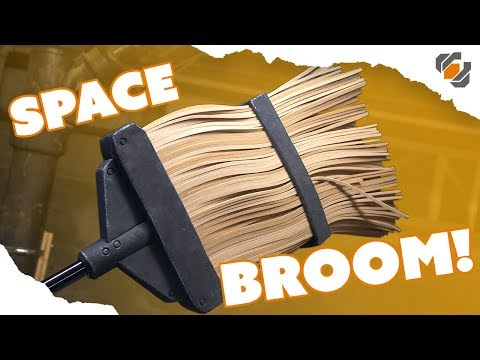 HOW TO - Make a Prop Broom from EVA Foam - TUTORIAL