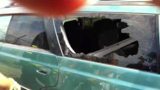 cooling glass for car