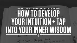 How to develop your intuition + tap into your inner wisdom Thumbnail