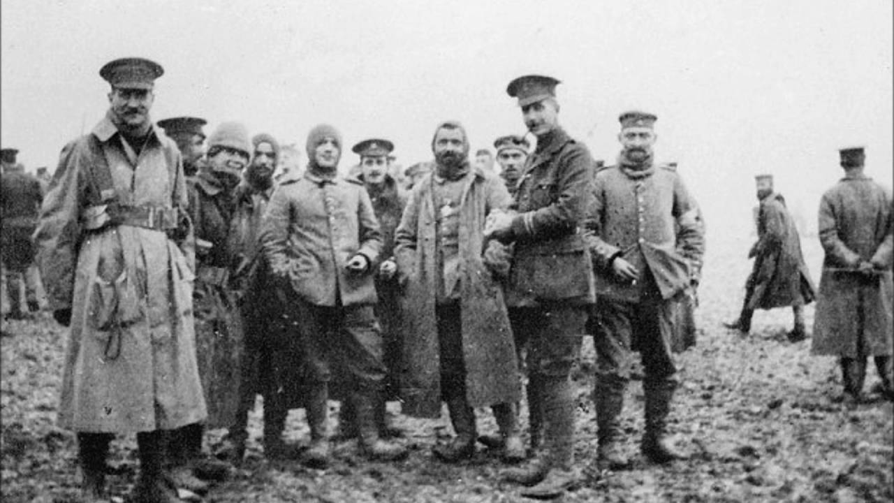 The Christmas Truce of 1914: Abolish All Wars  Indict Today's War