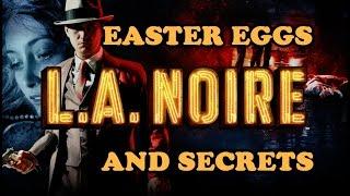 LA Noire Easter Eggs And Secrets HD