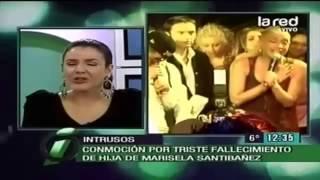 Rostros lloran partida de la hija de Marisela Santibañez   La Red 360p